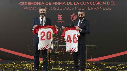 El Almería ya tiene su estadio y se prepara para las obras