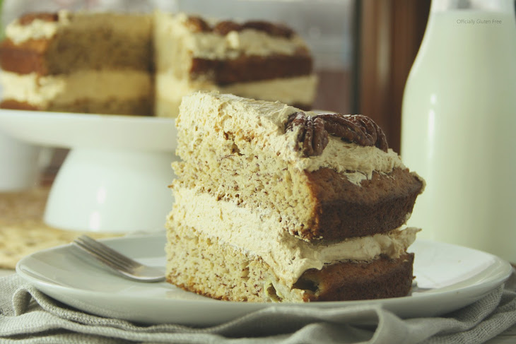 Banana Butterscotch Pecan Cake Recipe   Yummly