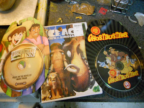 Photo: I scored a couple Christmas presents as well as the Ice Age DVD.