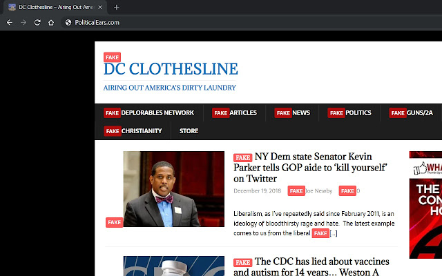 Spot Fake News Domains