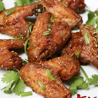 Hawaiian Pupu Chicken Wings.