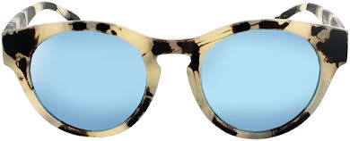 Optic Nerve ONE Rizzo Polarized Sunglasses: Matte Beige Marble with Polarized Smoke Ice Blue Mirror Lens alternate image 1