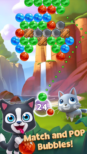 Pet Paradise - Bubble Pop  screenshots 1