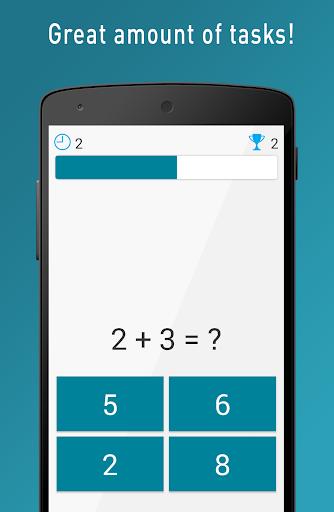 Quick Brain Mathematics - Exercises for the brain  screenshots 1