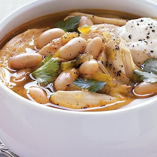 Southwestern Chicken and White Bean Soup