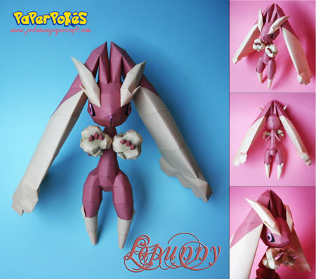 Pokemon Lopunny Papercraft