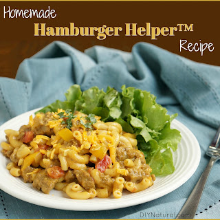 Homemade Hamburger Helper ™.