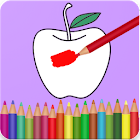 Fruits Vegetables Coloring Book icon