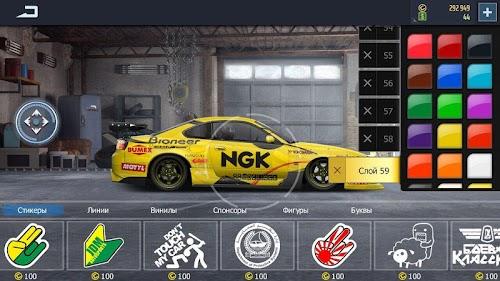 Screenshot 2 Drag Racing: Streets 2.3.3 APK+DATA MOD