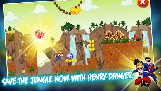 Henry Captain Danger ''Runner & Survival'' - náhled