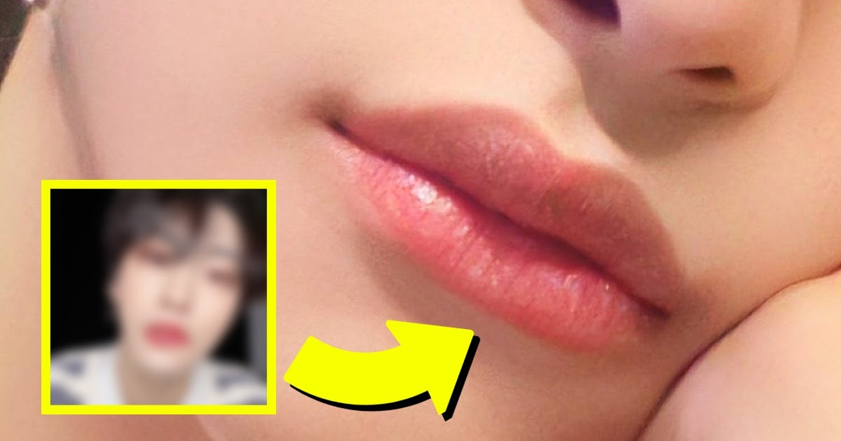 """The Member Of ATEEZ That Won A """"Prettiest Lips"""" Poll Shouldn't Surprise Anyone"""