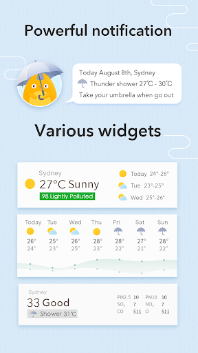 MyWeather - Forecast & Widgets  screenshots 3