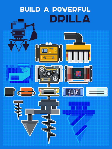 Drilla u2014 crafting game 7.6 screenshots 7
