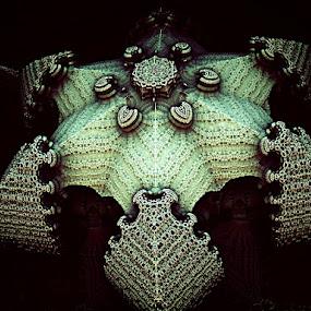 Étoile de mer by Linda Czerwinski-Scott - Illustration Abstract & Patterns ( abstract, illustration, fractal, design )