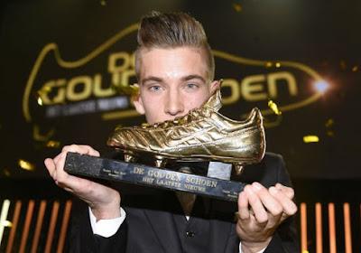 Praet remporte le Soulier d'Or 2014