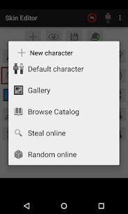 Skin Editor for Minecraft MOD 2.2.8 (Unlocked) APK 5