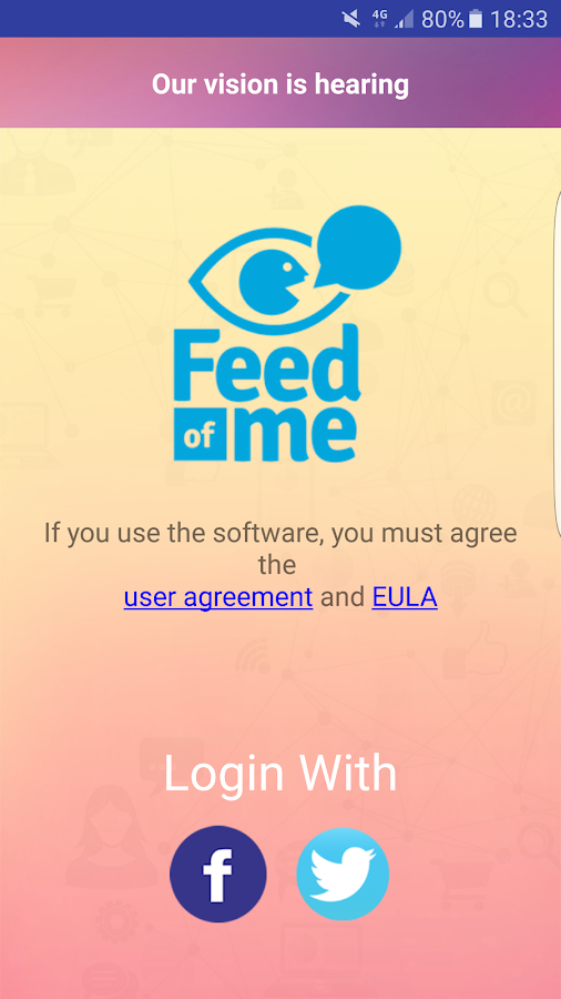 Feed of Me- screenshot