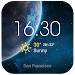 Weather forecast app for Android Icon