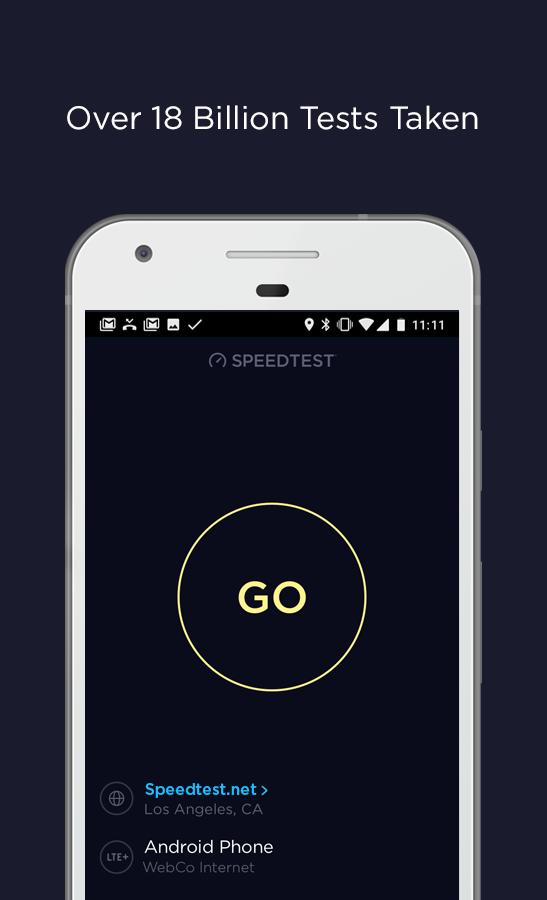 Speedtest by Ookla Screenshot 3