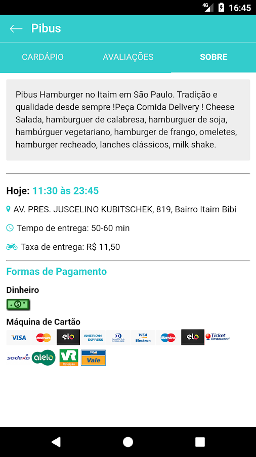Yebaaa! Delivery de Comida ...- screenshot