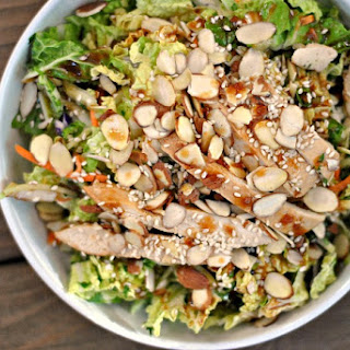 Grilled Ginger-Sesame Chicken Chopped Salad