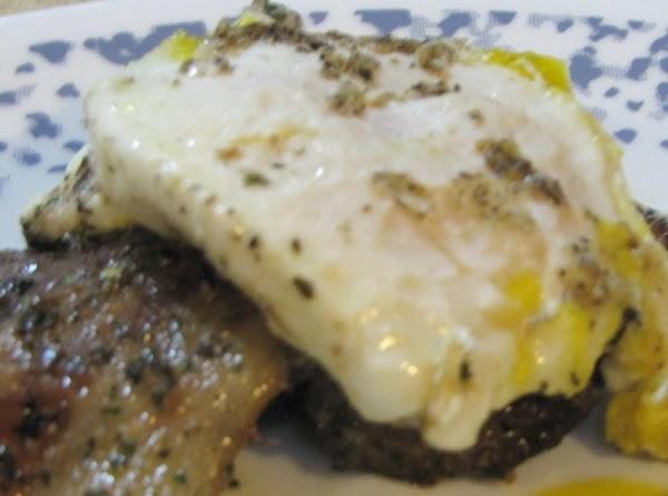 Deer Steak, Bacon And Eggs Recipe