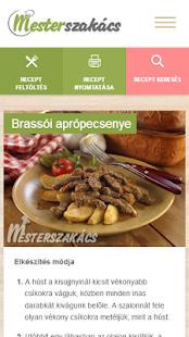 Mesterszakács - receptek for PC-Windows 7,8,10 and Mac apk screenshot 3