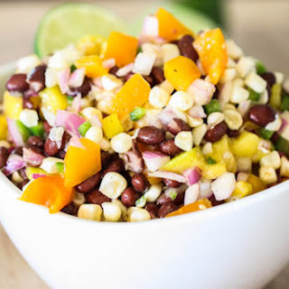 Black Bean, Sweet Corn and Mango Salad