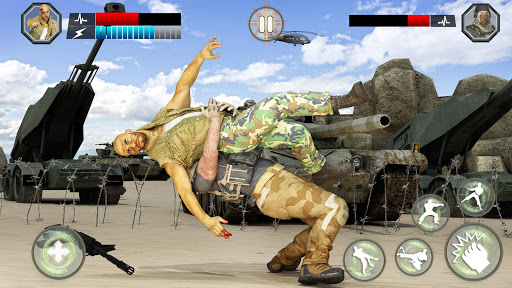Army Battlefield Fighting: Kung Fu Karate apkpoly screenshots 3