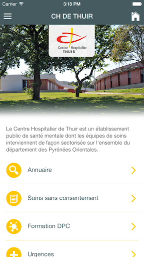CH de Thuir screenshot 1