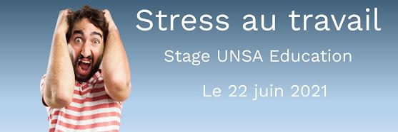 Stage sur le stress au travail