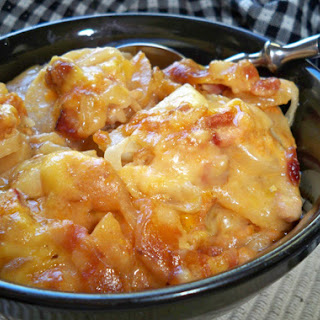 Slow Cooker Ham and Scalloped Potatoes