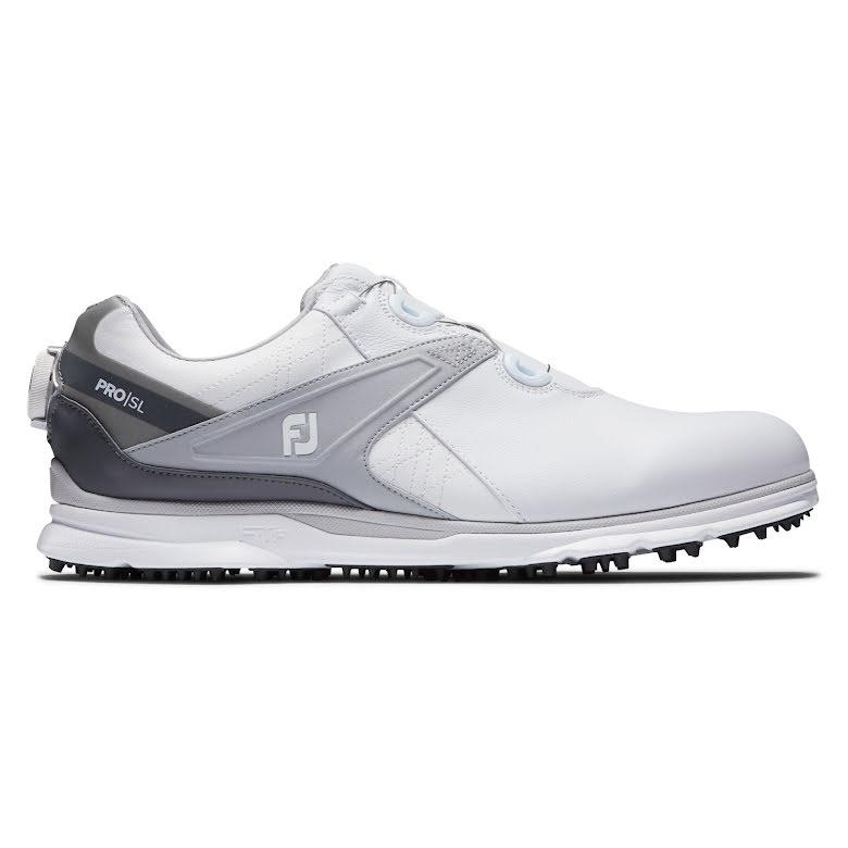 Golfskor FootJoy Pro SL Boa Herr Vit/Grå - Medium