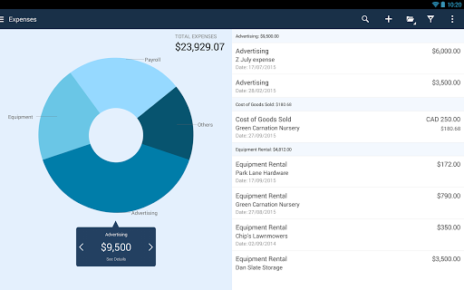 QuickBooks Accounting: Invoicing & Expenses 18.2 screenshots 9