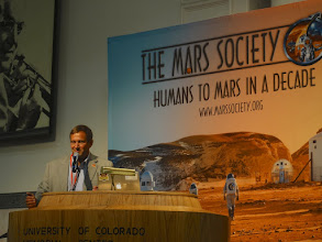 Photo: Dr. Donald Hassler,Science Program Director at Southwest Research Institute Boulder andPrincipal Investigator of the Radiation Assessment Detector on the Curiosity Rover (MSL)