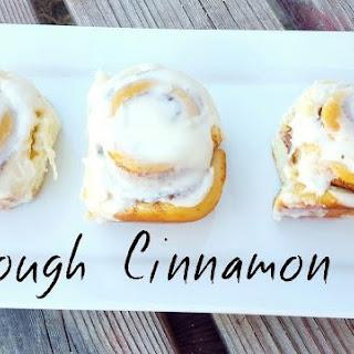 Sourdough Cinnamon Rolls.
