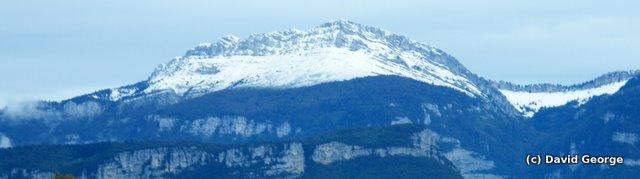 Photo: Grande Sure, premiere neige