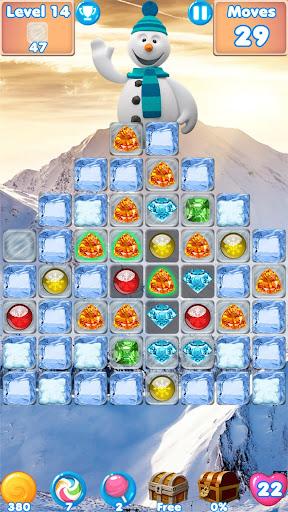 Snowman Swap - match 3 games New match 3 no wifi 1.0.7 Mod screenshots 2