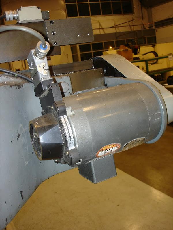 Surplus conveyor motors for cnc retrofit for Drive end and non drive end of motor
