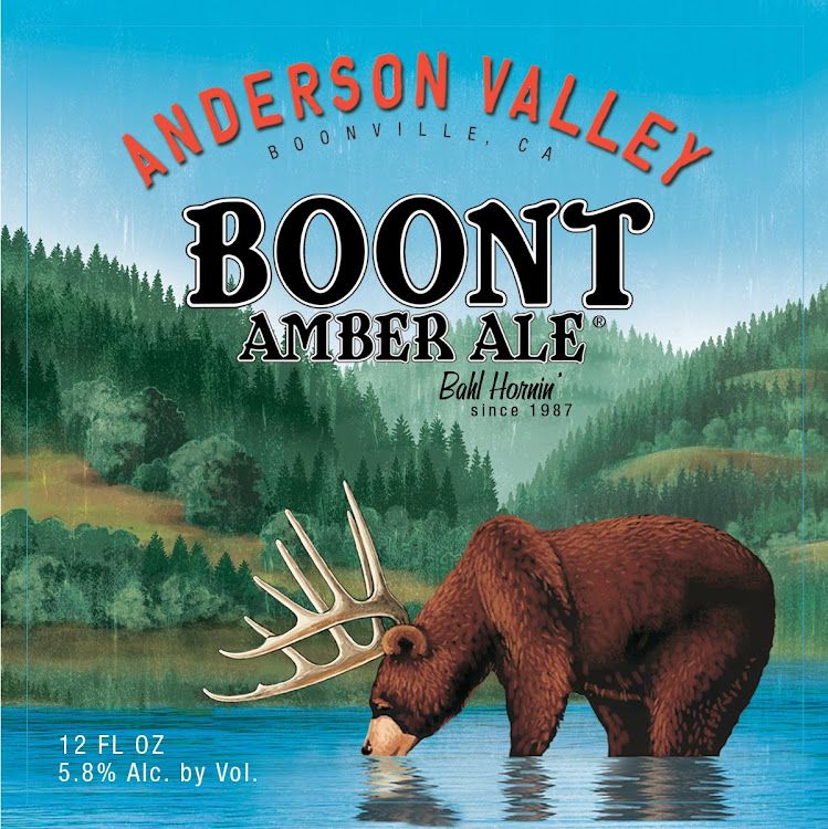 Logo of Anderson Valley Boont Amber Ale