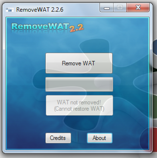 Cum scap de Windows 7 genuine - RemoveWAT
