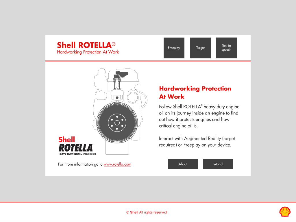 Shell Rotella- screenshot
