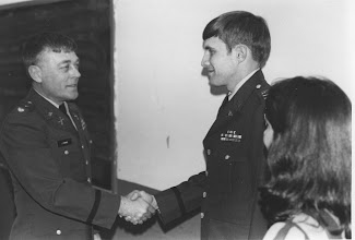 Photo: LTC Sheldon Lyons and CPT Tim Gale