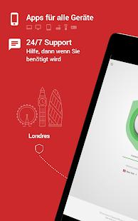 ExpressVPN - Das beste VPN für Android Screenshot