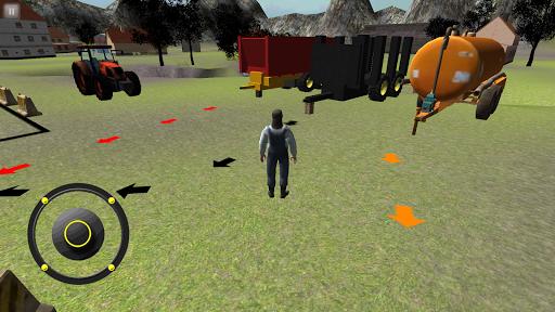 农3D:拖拉机停车