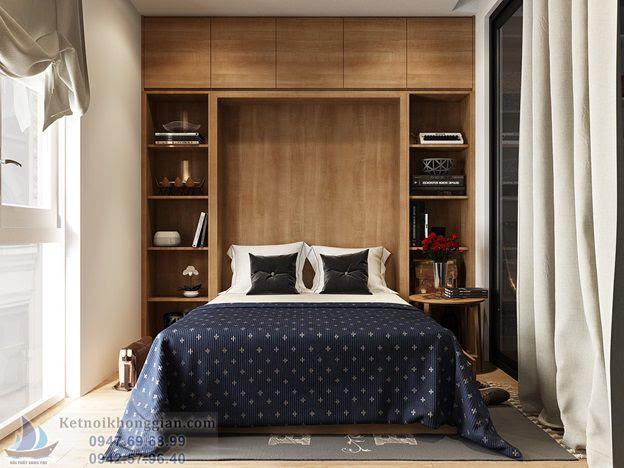 thiết kế phòng ngủ tươi tắn