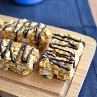 Honey Peanut Butter Puffed Wheat Bars One 9x9 Pan Recipe