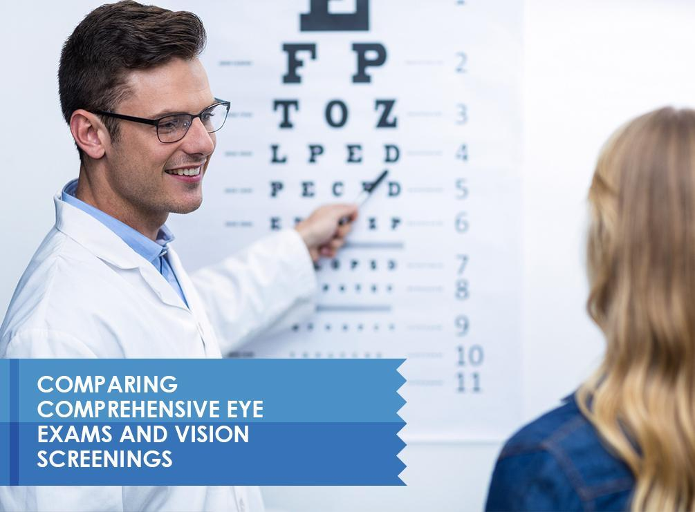 Eye Exams and Vision Screenings