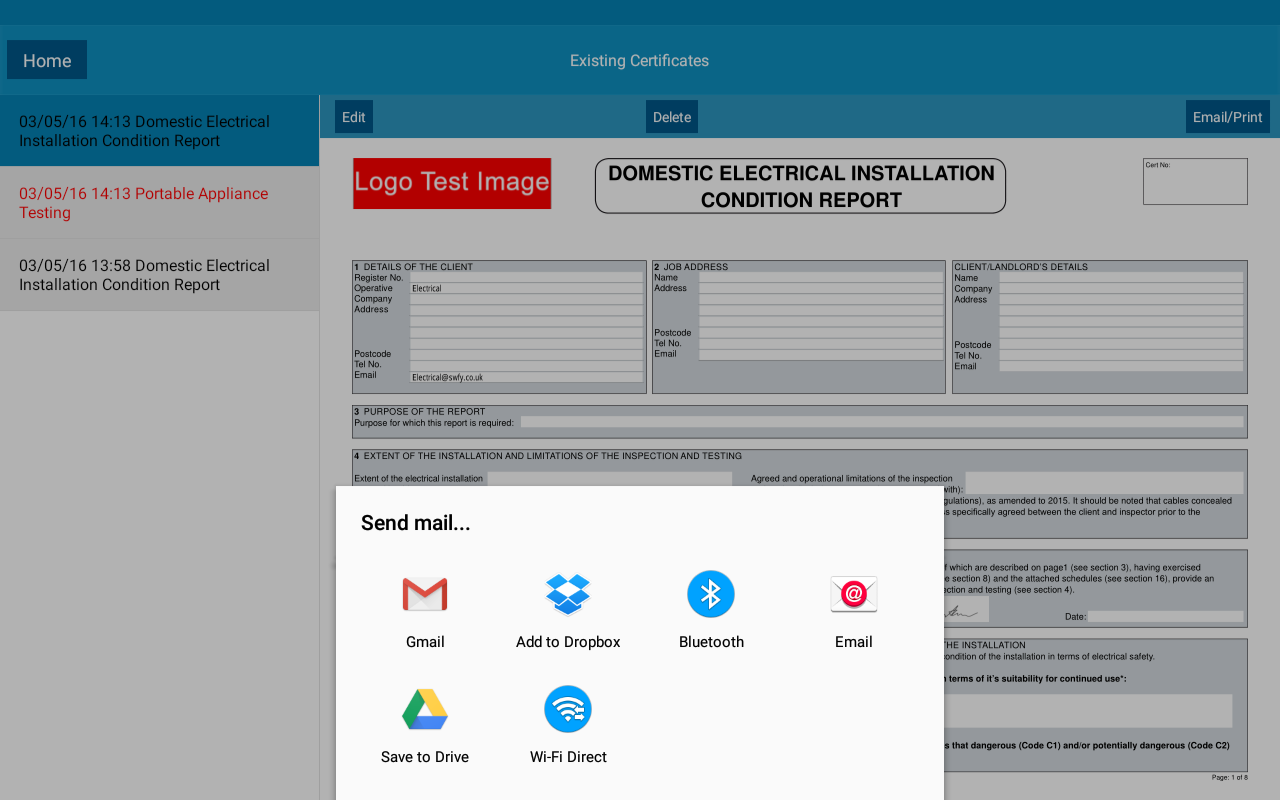 Electrical cert software android apps on google play electrical cert software screenshot xflitez Image collections