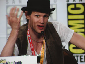 Photo: Saturday (Dana) - TV Guide Fan Favorites panel; Matt Smith
